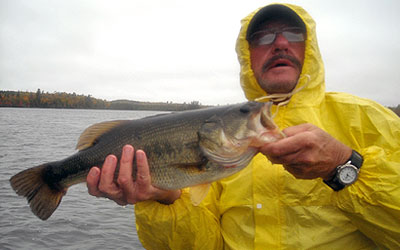 <p>This largemouth caught near the Vermillon Dam Lodge in Lake Vermillon, Minnesota</p>